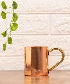 Copper Mug with Handle, 414 ml