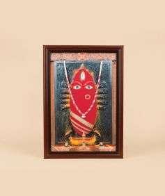 Linga Bhairavi Photo - Kumkum 6x8 (With Frame)