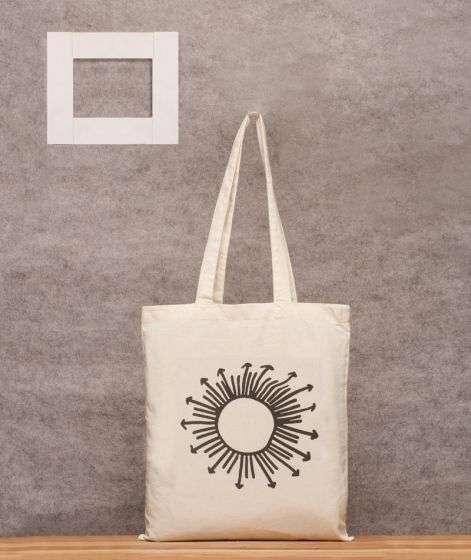 Printed Cotton Bag 3 (Sun)