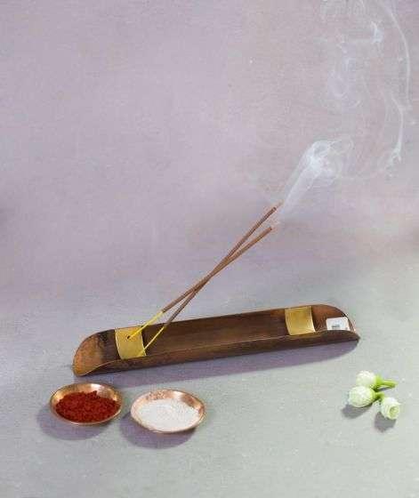Copper Incense Stand