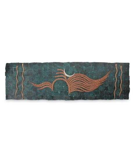 Copper Shiva Wall Panel - Big