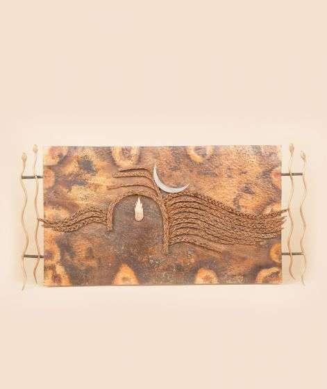 Copper Shiva Wall Panel - Medium