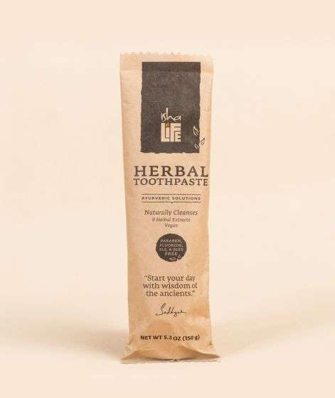 Herbal Toothpaste (Paraben, Fluoride, SLS, & SLES Free), 150 gm
