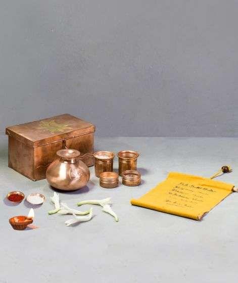 Bhuta Shuddhi Kit in Copper Box