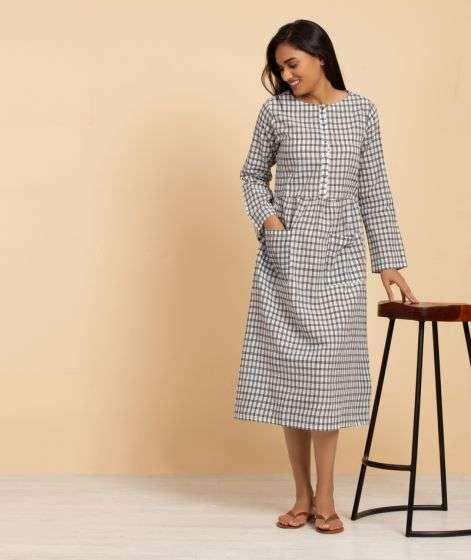 Ladies Muslin Dress 2