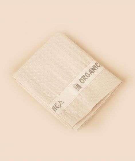 Organic Waffle Towel  - Small