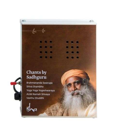Sadhguru Chant Box (New) with 5 Consecrated Chants