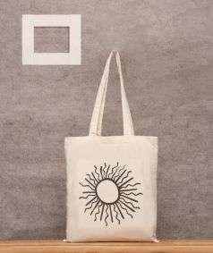Printed Cotton Bag 1 (Sun)