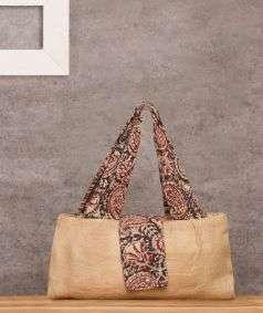 Kalamkari Jute Hand Bag