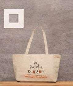 Be Breath Blossom Jute Bag