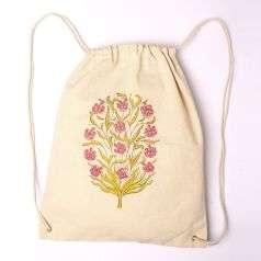 Cotton Backpack Bag-6