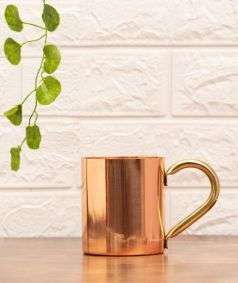 Copper Mug with Handle, 414 ml