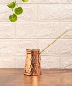 Copper Water Warmer with Handle, 270 ml