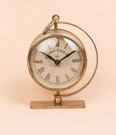 Iron Table Clock 4 Inch
