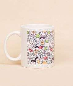 Isha Pattern Mug