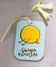 Luggage Tag - Surya Namaskar