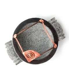 Handcrafted Stone Uruli Design 4