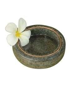 Handcrafted Stone Uruli Round Design