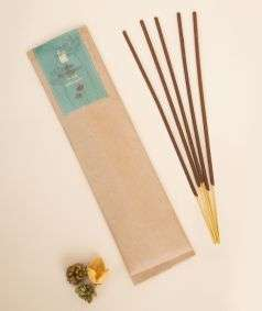 Organic Incense Bergamot, 10 Sticks