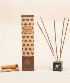 Organic Incense Cinnamon, 10 Sticks