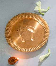 Jeevarasam Pot Plate - Small