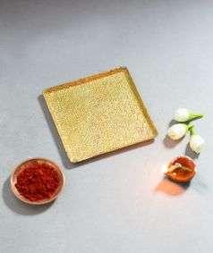 Linga Bhairavi Lamp Plate