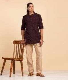 Mens Cotton Pant Thicker Khaki