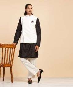 Handspun, Handwoven Bengal Cotton Vest Style-2
