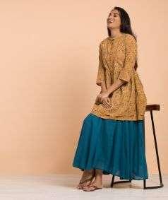Ladies Kalamkari Top Style 1