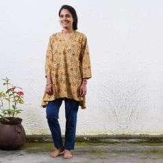 Ladies Kalamkari Top Style 2