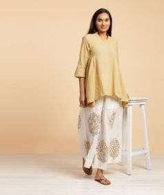 Ladies Natural Dyed Mustard KM 2