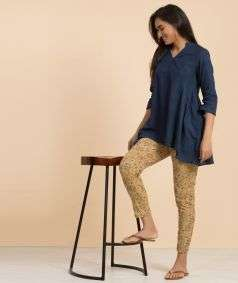 Ladies Natural Dyed Indigo KM 2