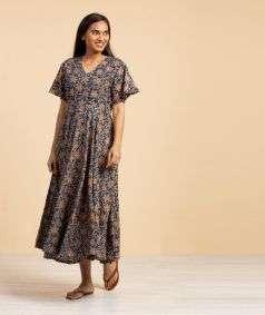 Ladies Kalamkari Long Kurta Style 2
