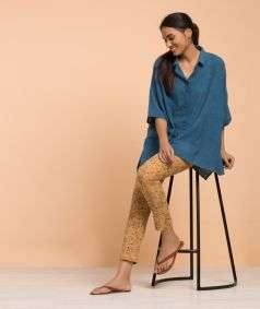 Ladies kala cotton shirt style 2
