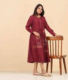 Ladies Silk dress Style 13