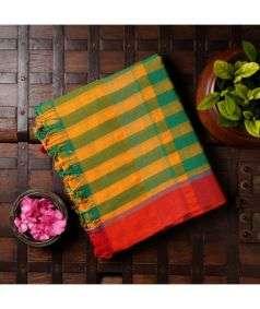 Gamcha Cotton Saree 2