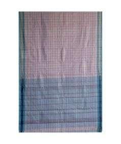 Muslin Cotton Saree Style 16