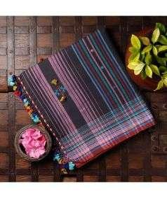 Cotton Bhujodi Saree Style 2