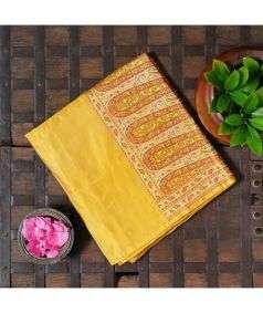 Handloom Banarasi Tanchoi Silk Saree Style 3