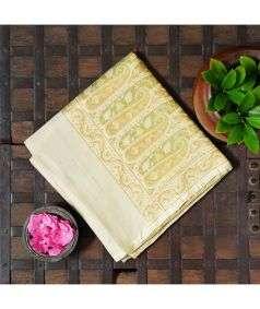 Handloom Banarasi Tanchoi Silk Saree Style 4
