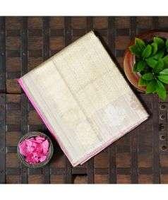 Handloom Banaras Silk Saree Style 3