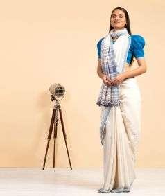 Handlloom Kala Cotton Saree Style 4