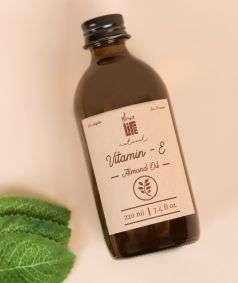 Vitamine E Almond Oil (Paraben & SLES Free), 220 ml