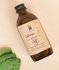 Vitamine E Herbal Bath Oil (Paraben & SLES Free), 220 ml