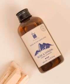 Rose and Sandal Herbal Shampoo (Paraben & SLES Free), 200 ml