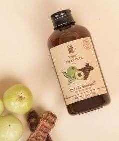Amla Shikakai Herbal Shampoo (Paraben & SLES Free), 200 ml