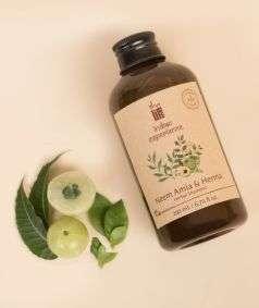 Neem Amla and Henna Herbal Shampoo (Paraben & SLES Free), 200 ml