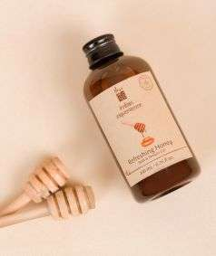 Refreshing Honey Bath & Shower Gel (Paraben & SLES Free), 200 ml