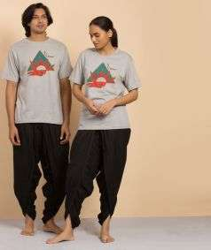Natural dyed T shirt Prana