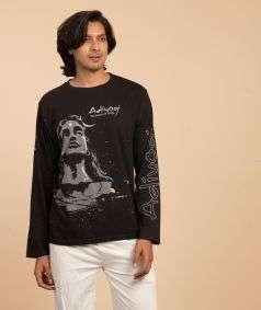 Unisex Adiyogi T-Shirt - Black